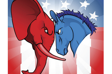 republican elephant democrat donkey presidential campaign 2016 candidate products