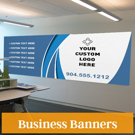 Customized banners pick a size indoor outdoor banners custom signs