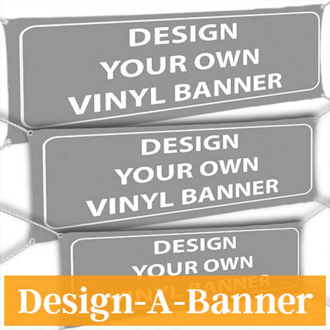Customized Banners, Pick a Size! Indoor/Outdoor Banners - Custom Signs