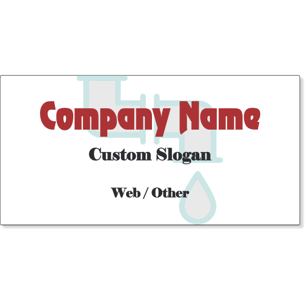 Plumbing Company Magnetic Sign | Set of 2