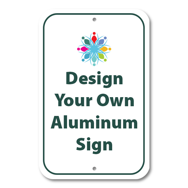Large Color Aluminum Signs