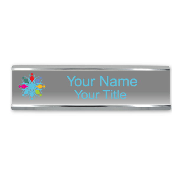 Customizable Name Plates for Wall or Door - Full Color 2