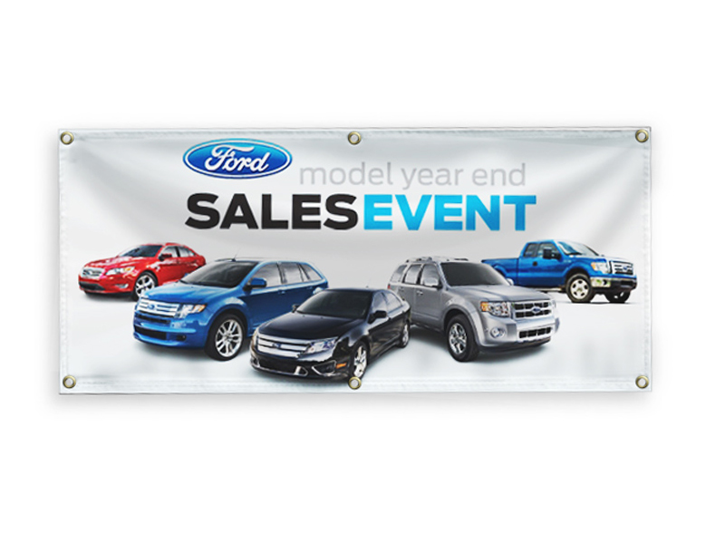 3' x 6' Custom Full Color Vinyl Banner