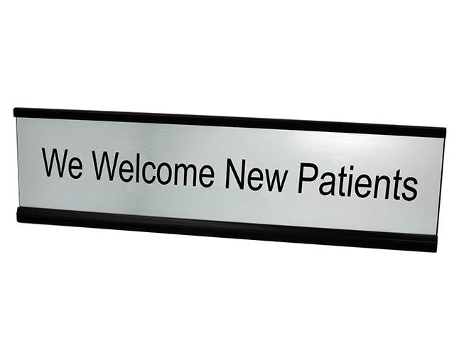 We Welcome New Patients Silver Plate