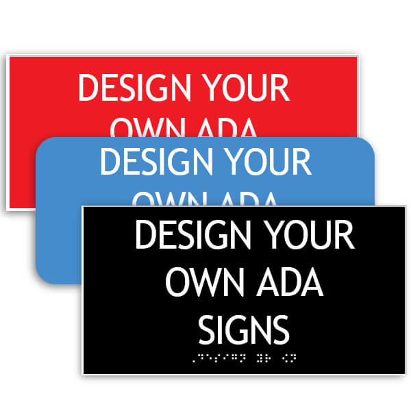 ADA Sign Horizontal