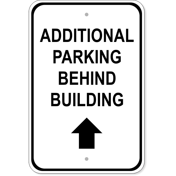 "Additional Parking Sign | 18"" x 12"""