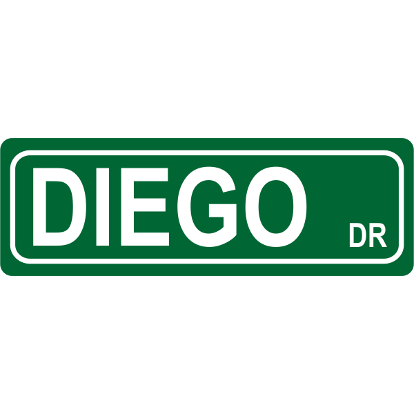 Drive Street Sign