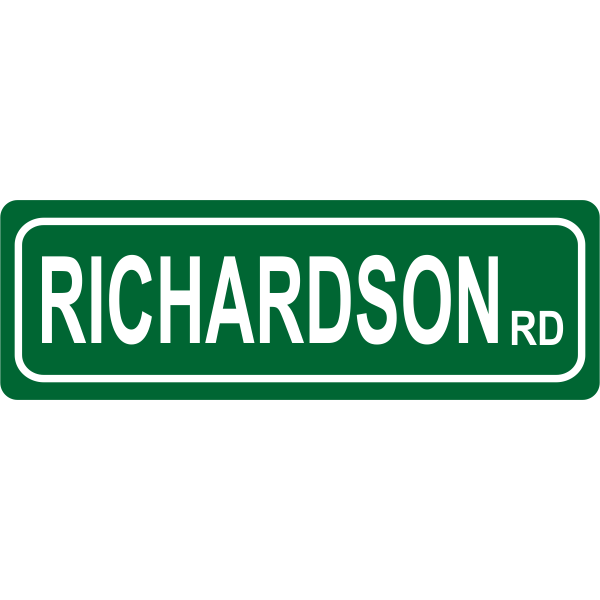 Road Street Sign