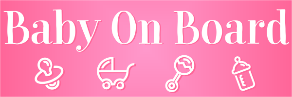 Baby Girl Bumper Sticker
