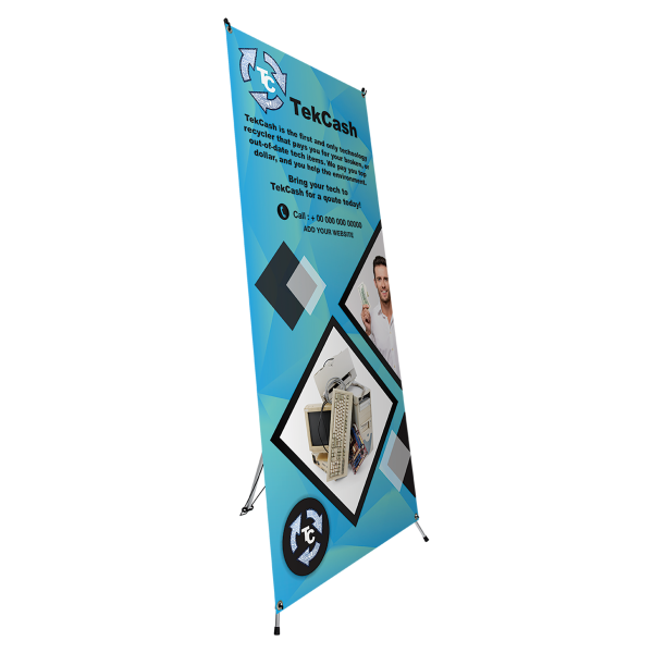 X-Frame Full Size Banner Stand