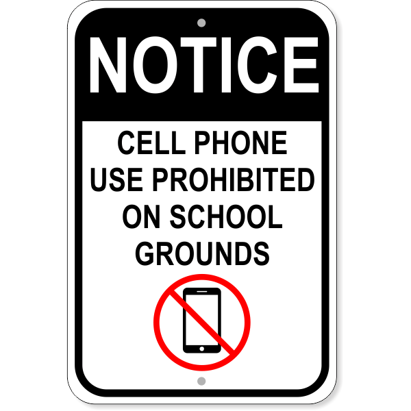 information about cell phones in school