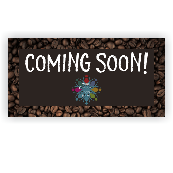 Coming Soon Coffee Banner