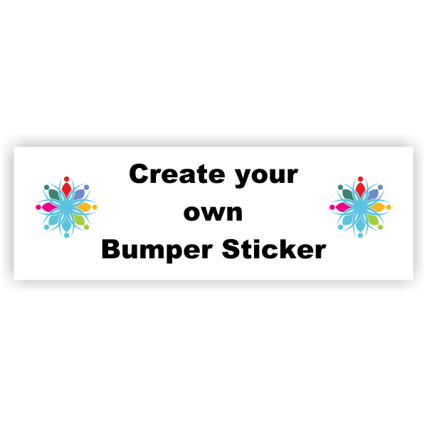 Create your Own Bumper Sticker - 2