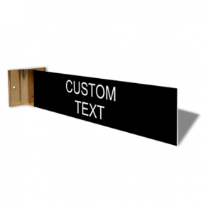 "Custom Room Corridor Sign | 2"" x 10"""