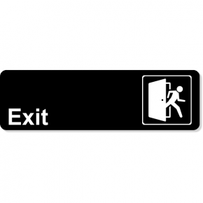 Exit Icon Sign