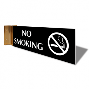 "No Smoking Corridor Sign | 4"" x 12"""