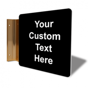 "Custom Text Corridor Sign | 6"" x 6"""