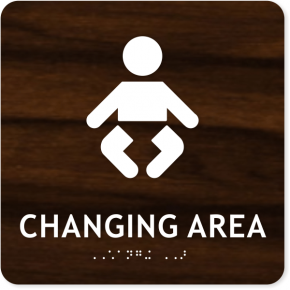 "ADA Changing Area Icon Sign | 8"" x 8"""