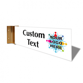 "Custom Text Full Color Corridor Sign | 4"" x 12"""