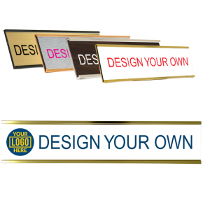 """Customizable Name Plate for Wall or Door - Full Color 2"""" x 10"""""""