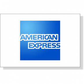 """American Express Decal 
