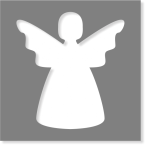 Angel Stencil | Multiple Sizes