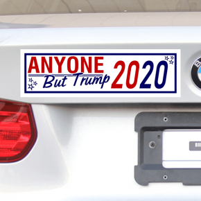 Anyone But Donald Trump 2020 Bumper Sticker