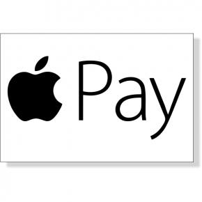 "Apple Pay Decal | 2"" x 3"""