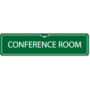Conference Room Decorative Sign