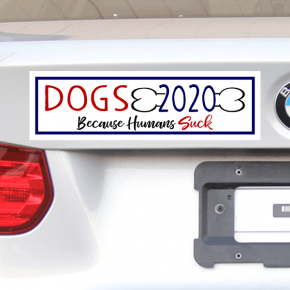 Vote Dogs 2020 Bumper Sticker