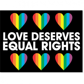 "Equal Rights Yard Sign | 18"" x 24"""