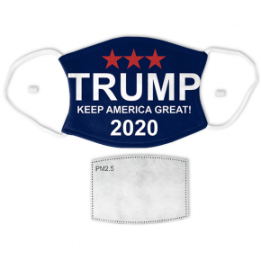 Trump - Keep America Great Adult Size Face Mask