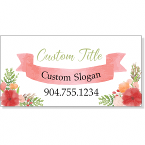 Floral Studio Magnetic Sign | Set of 2
