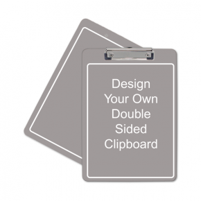 """Full Color Personalized Clipboard (Letter) Dbl Sd 12.5"""" x 9"""""""