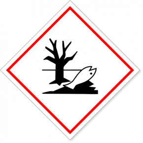 "GHS Dangerous For Environment Decal | 6"" x 6"""