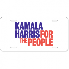 Kamala Harris Presidential Campaign License Plate