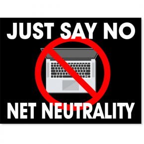 "Net Neutrality Yard Sign | 18"" x 24"""