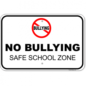 "No Bullying Aluminum Sign | 12"" x 18"""