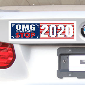 OMG Please Make It Stop Bumper Sticker