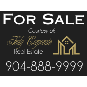 Plastic Real Estate For Sale Sign