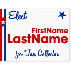 "Stars & Stripes Election Yard Sign | 18"" x 24"""