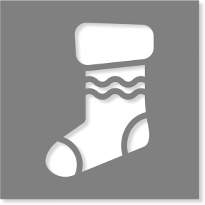Stocking Stencil | Multiple Sizes