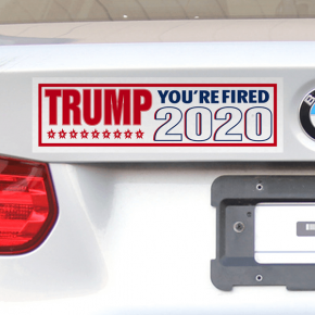 Donald Trump You're Fired 2020 Bumper Sticker