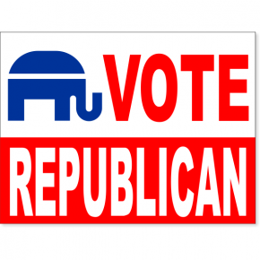 "Vote Republican Yard Sign | 18"" x 24"""