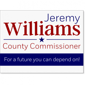 "Williams Election Yard Sign | 18"" x 24"""