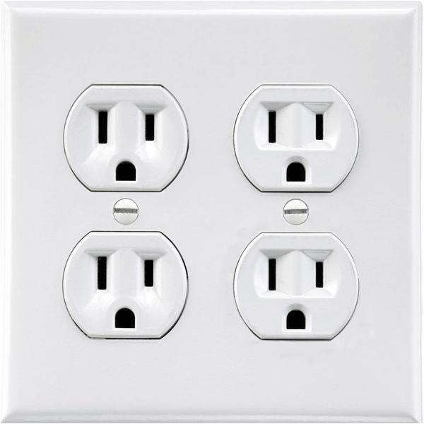 Fake Double Outlet Decal