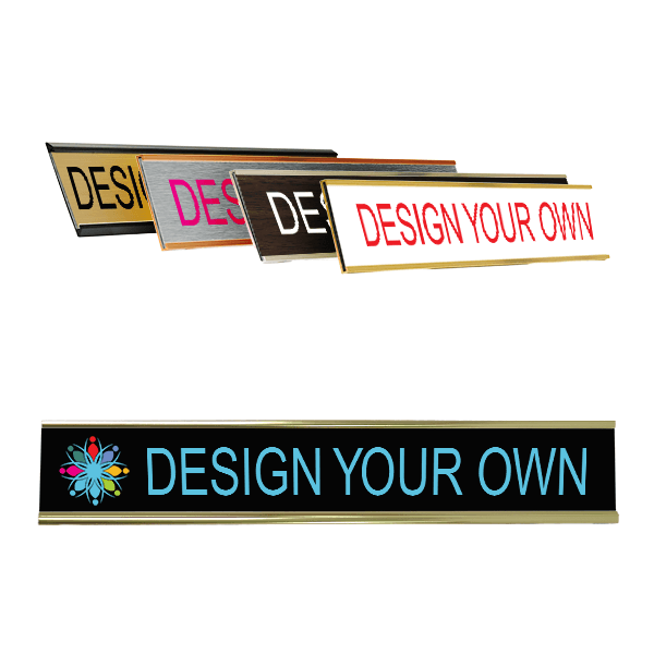 Full Color Wall Name Plate - 1