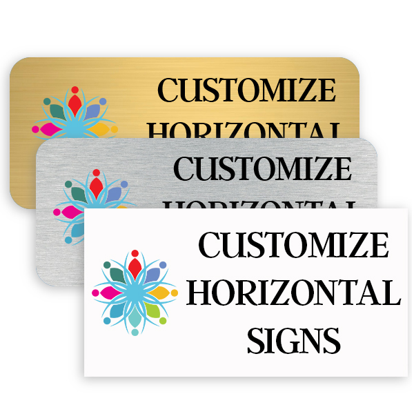 Horizontal Color Sign
