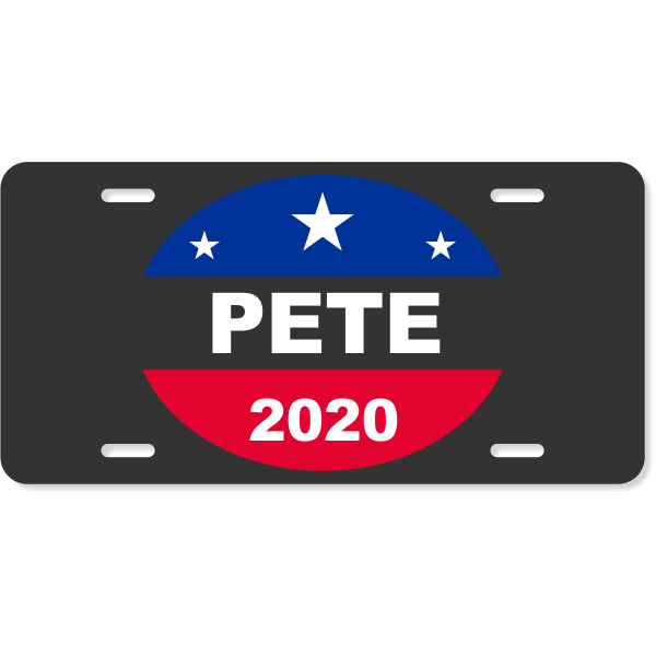 Pete 2020 License Plate