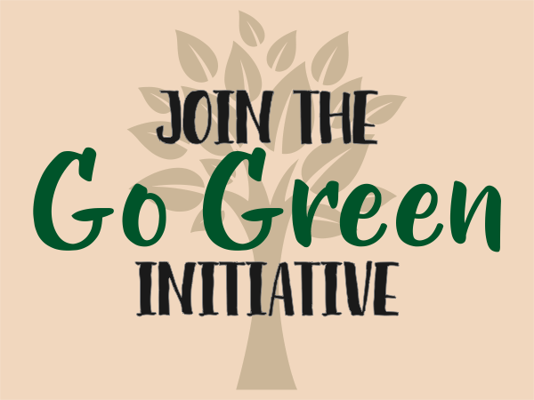 Go Green Sign
